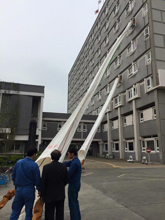 【平成27年度本庁舎防災訓練】