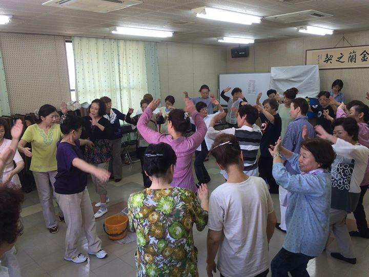 【盆踊りの練習】