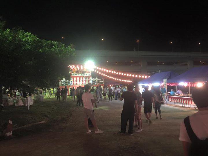 【武庫川盆踊り1日目】
