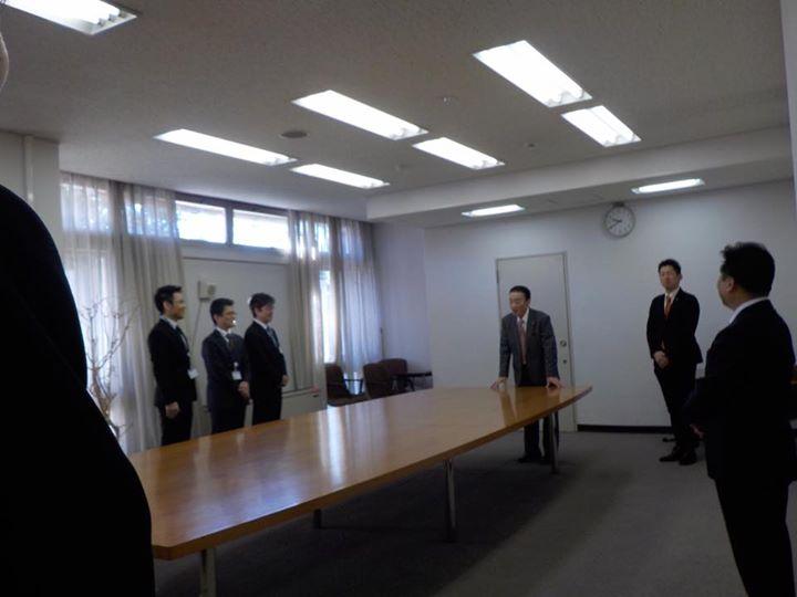 【正副議長 議会職員への年末訓示】