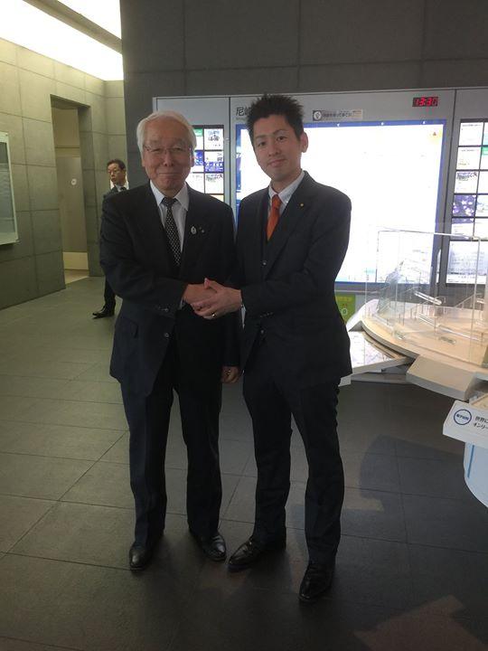 【井戸敏三兵庫県知事にお会いしました。