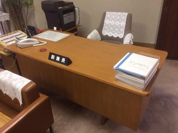 【机が綺麗になりました】