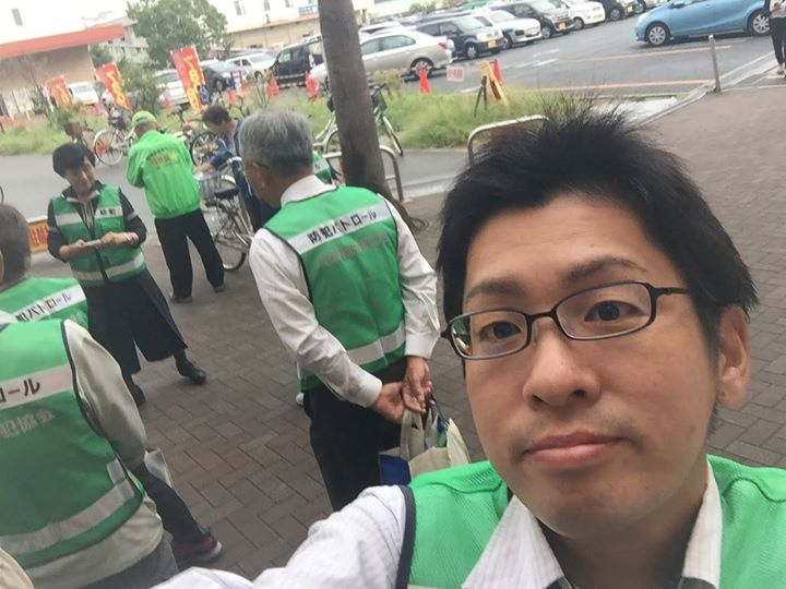 尼崎西防犯協会「ひったくり及び自転車盗難被害防止キャンペーン」を実施しました。