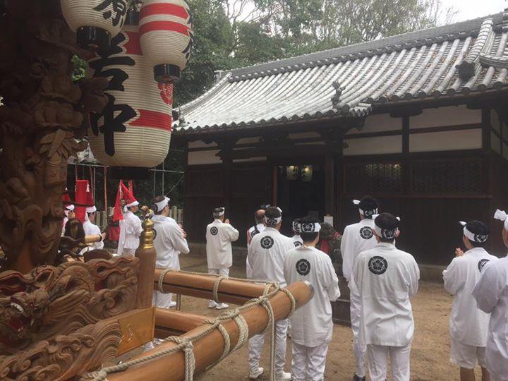 【平成30年度松原神社太鼓保存会祭禮】